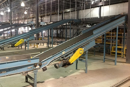 Used Floor to Floor Incline Conveyor