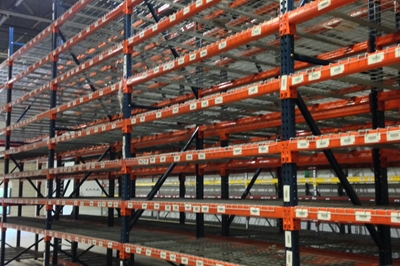 Used Interlake / New-Style Pallet Racking Liquidation