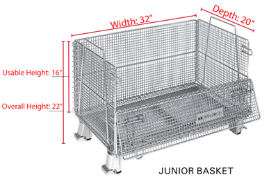 Junior Wire Baskets