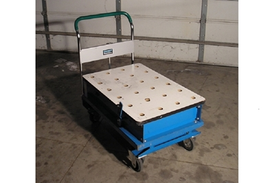 Used Southworth A-500 Lift Tables w/ Ball Transfer Top