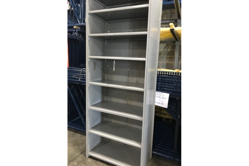 Used Lyons Steel Clip Shelving