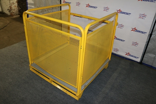 Used Forklift Manlift Cages