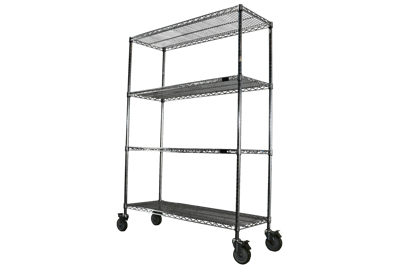 Used Mobile Wire Shelving