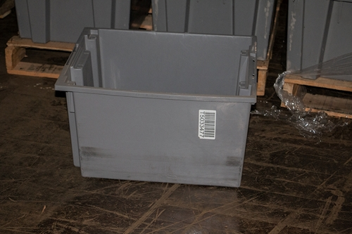 Used Akro-Mils Totes Nestable / Stackable -  23.5