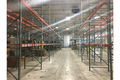 Pawtucket, RI Racking facility Liquidation