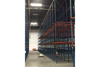 Used Frazier C4 Drive-In Structural Pallet Rack