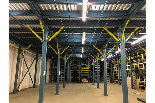 Used Premium Engineered Multi-Decker Mezzanine