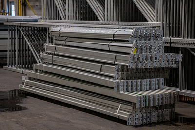 Premium Teardrop Pallet Rack Beams