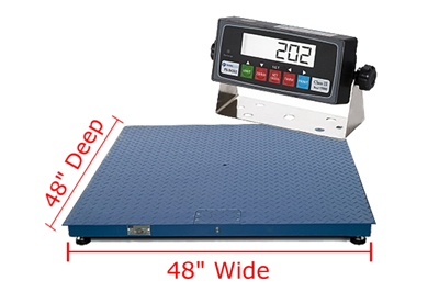 "Prime Scales PS-F Floor Scales 48"" x 48"""