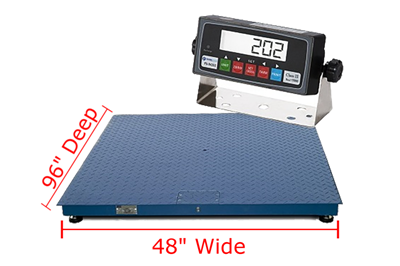 "Prime Scales PS-F Floor Scales 48"" x 96"""