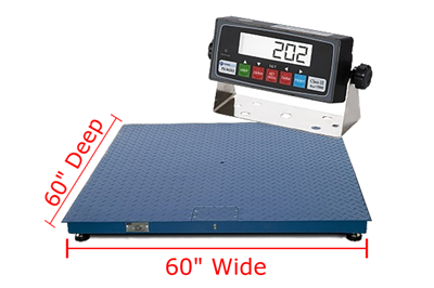 "Prime Scales PS-F Floor Scales 60"" x 60"""