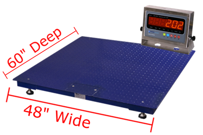 "Prime Scales GIE Floor Scales 48"" x 60"""