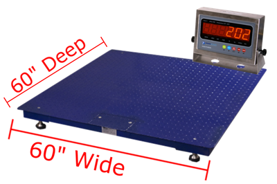 "Prime Scales GIE Floor Scales 60"" x 60"""