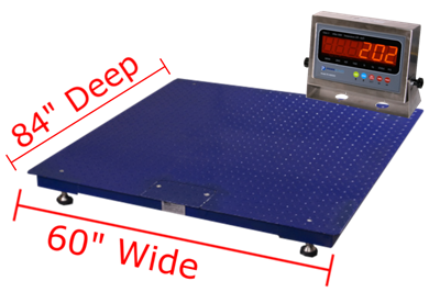 "Prime Scales GIE Floor Scales 60"" x 84"""