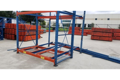 2D x 2W Structural Push Back Rack FOB - Houston, TX