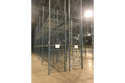 Used Roll Form Pallet Rack FOB: New Jersey