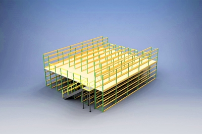 Used Pallet Rack Mezzanines For Sale 800-989-7176 Trusted