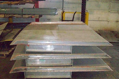 Used Rail Dock Boards for Sale by American Surplus Inc