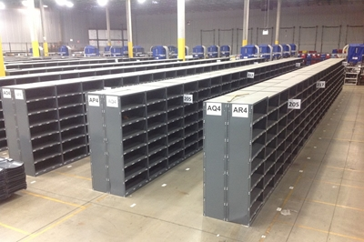 "Used Steel Shelving - 12"" Deep"