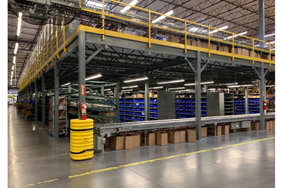 Used Steel Mezzanine - 10,178 Sq. Ft.