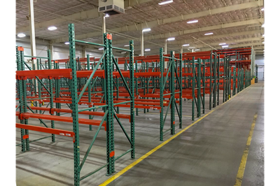 Teardrop Pallet Rack - FOB South Carolina