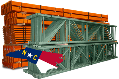 Teardrop Pallet Racks - FOB North Carolina