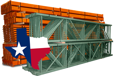 Teardrop Pallet Racks - FOB Texas