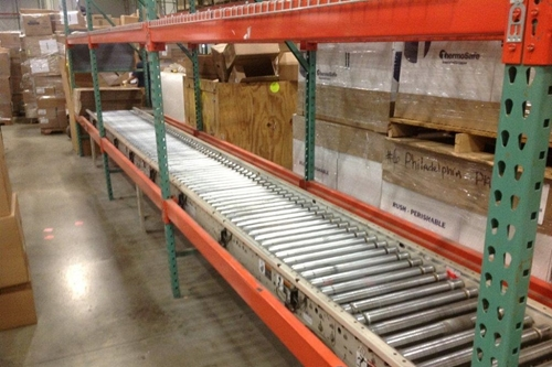 Used Accumulation Conveyor - Hytrol Photo Eye
