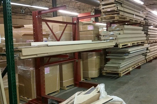 used lumber rack