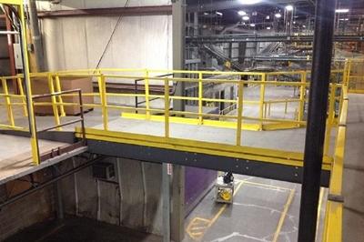 Used Mezzanine Catwalks & Work Platforms for Sale by