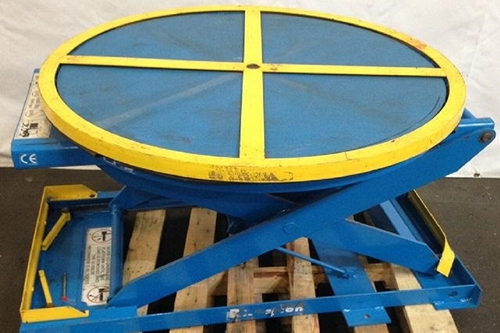 Used Pallet Positioners