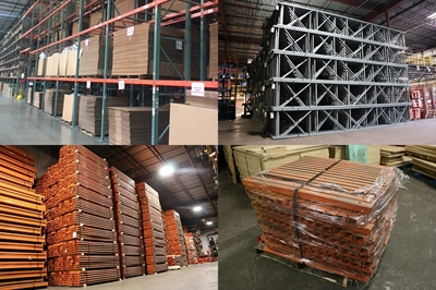 Used Teardrop Pallet Racking - Just Arrived
