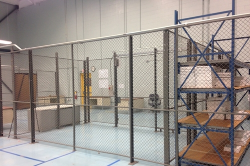 Used Wire Security Cage - 96