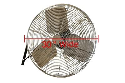Used Wall Mounted Fans - 30""