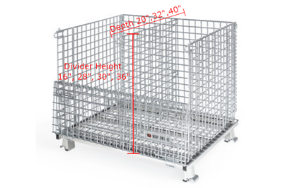 Wire Basket Dividers