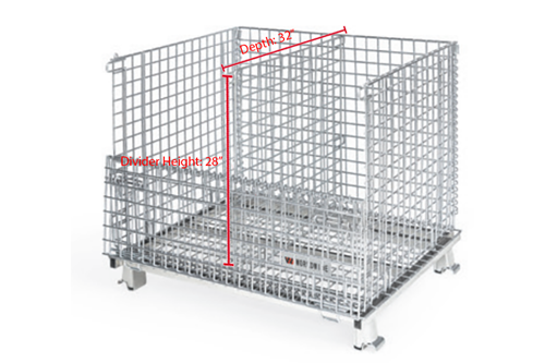 Medium WorldTainer Wire Basket Dividers