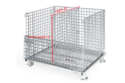 XL Wire Basket Dividers