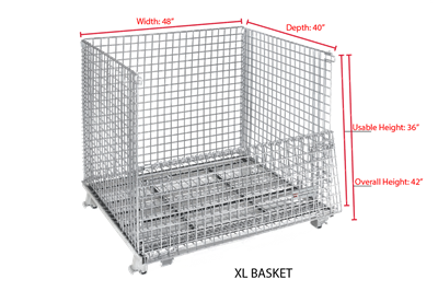 XL Wire Baskets