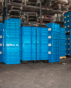 Used Plastic Bins & Used Plastic Totes for sale by American