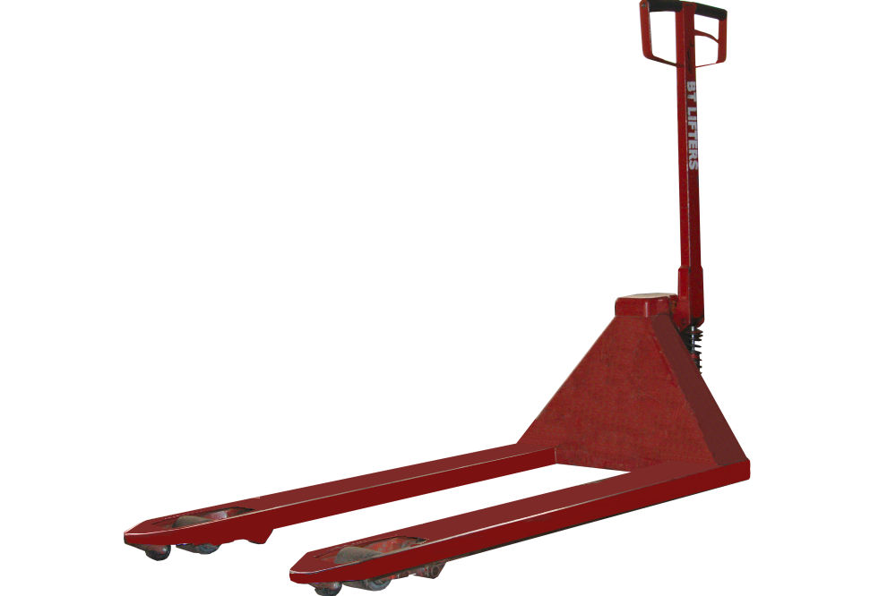 Our used Crown Manual Pallet Jacks can be repainted if neccessary, just ask!