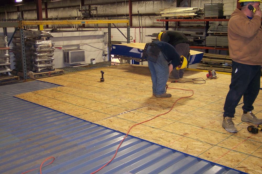 Used Wood Over Decking American Surplus