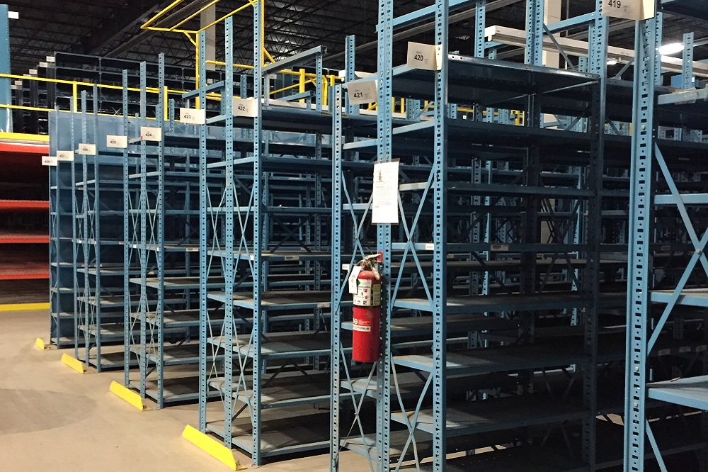 Used Open Industrial Shelving American Surplus