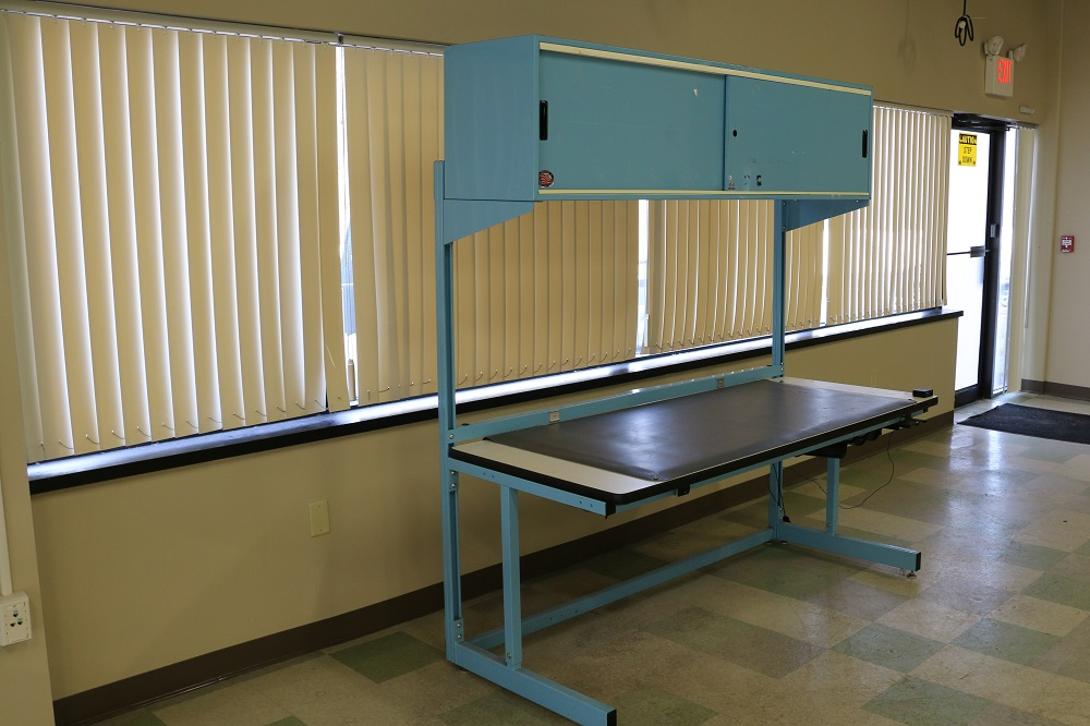 Used Workbench With Esd Mat