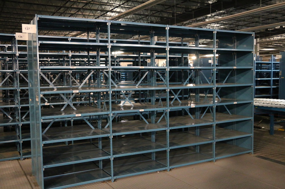 Ladders For Sale >> Used Warehouse Shelving
