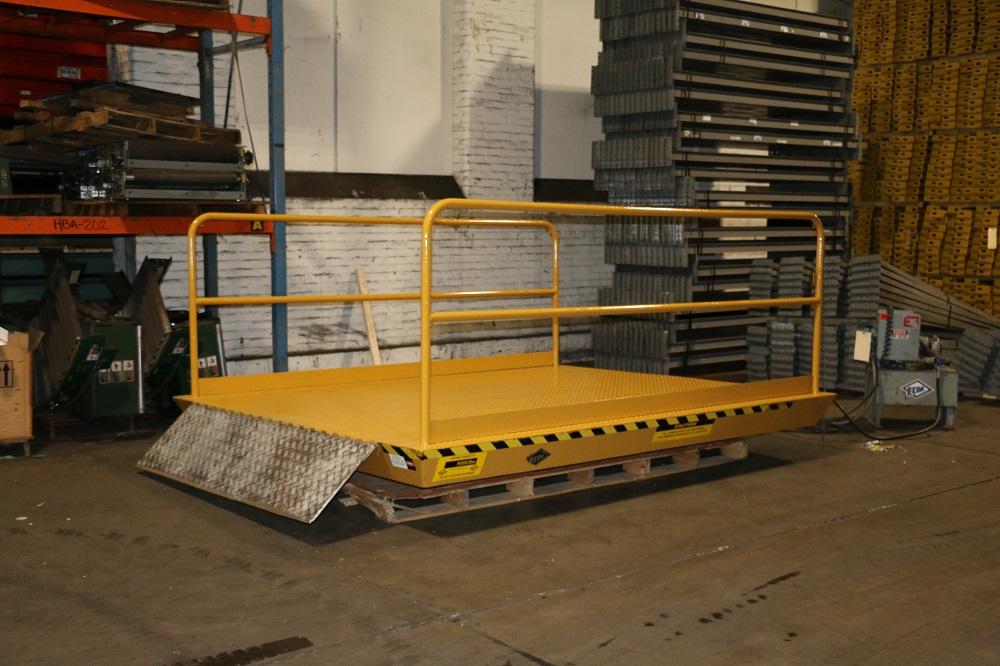 Used ECOA Hydraulic Scissor Dock Lifts