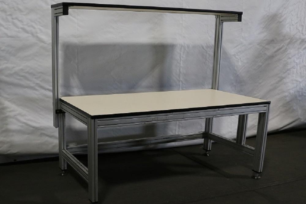Used Custom 80 20 Extruded Aluminum Workbenches