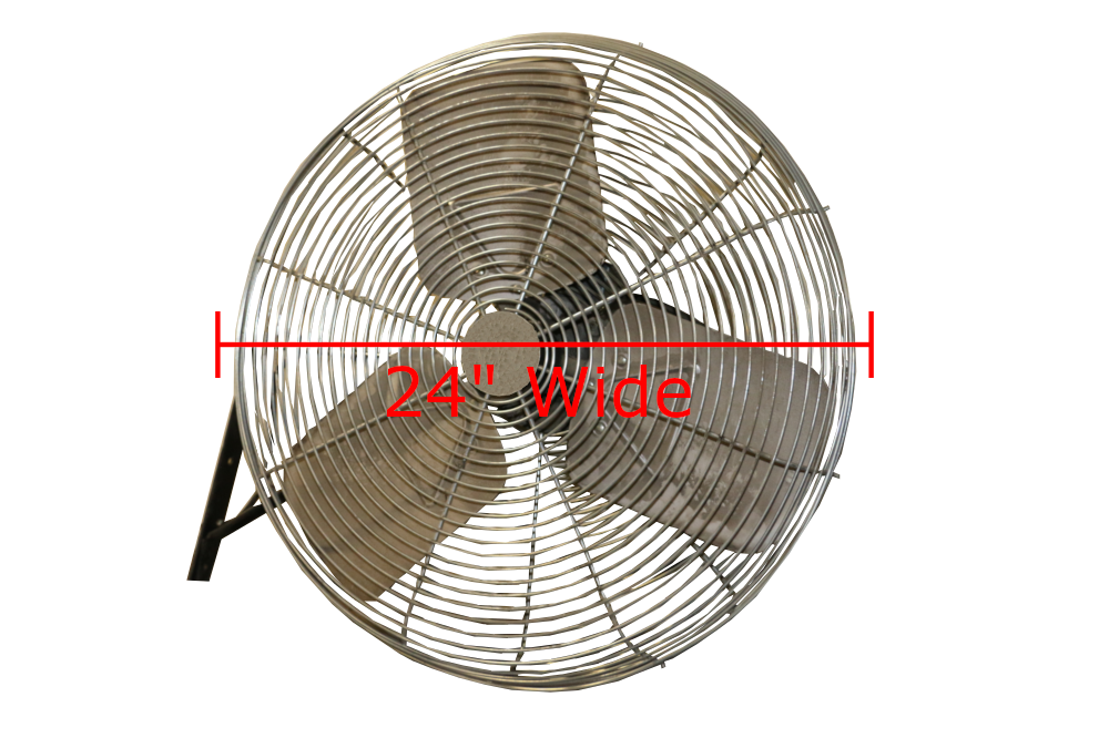 Used Wall Mounted Fans 24 Quot