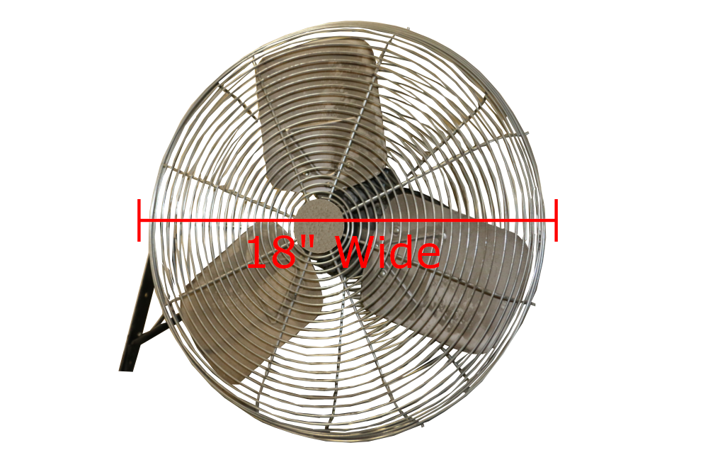Used Dayton Wall Mounted Fans 18 Quot