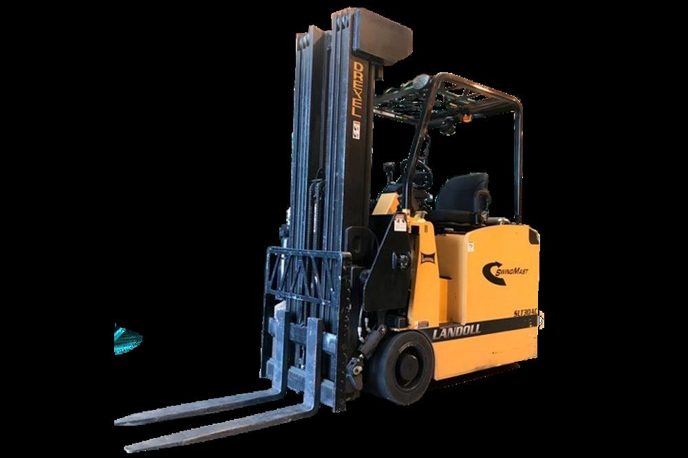 Used Drexel Swingmast Narrow Aisle Forklift